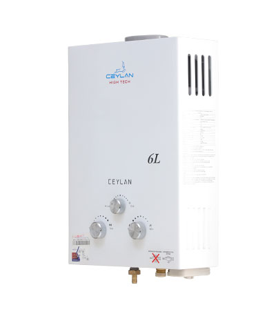 Chauffe-eau à gaz série 2 (6L/min)