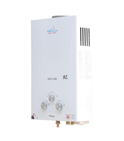 Chauffe-eau à gaz série 2 (8L/min)